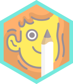CartoonistBadge