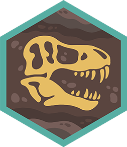 PaleontologistBadge